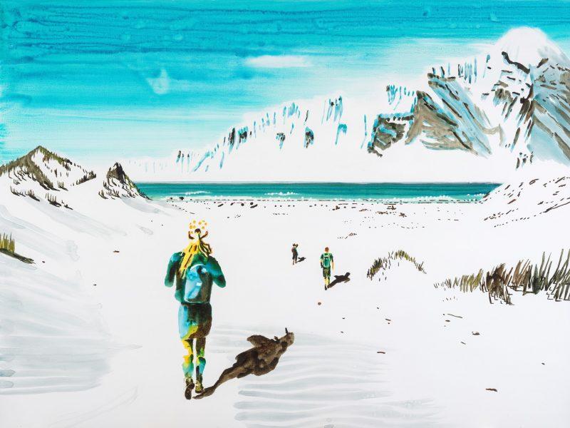keteleer_john-korner_down-towards-the-beach-2020